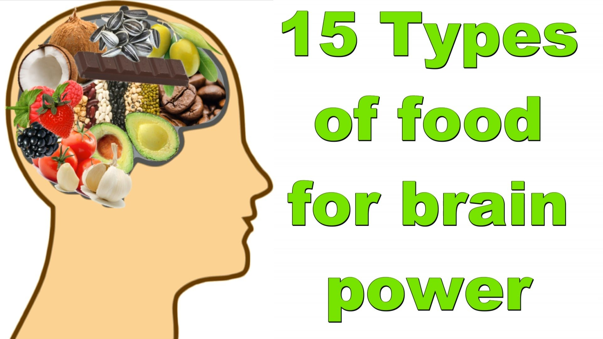 15 Types of Food for Brain Power Boost & Memory Improve 2016