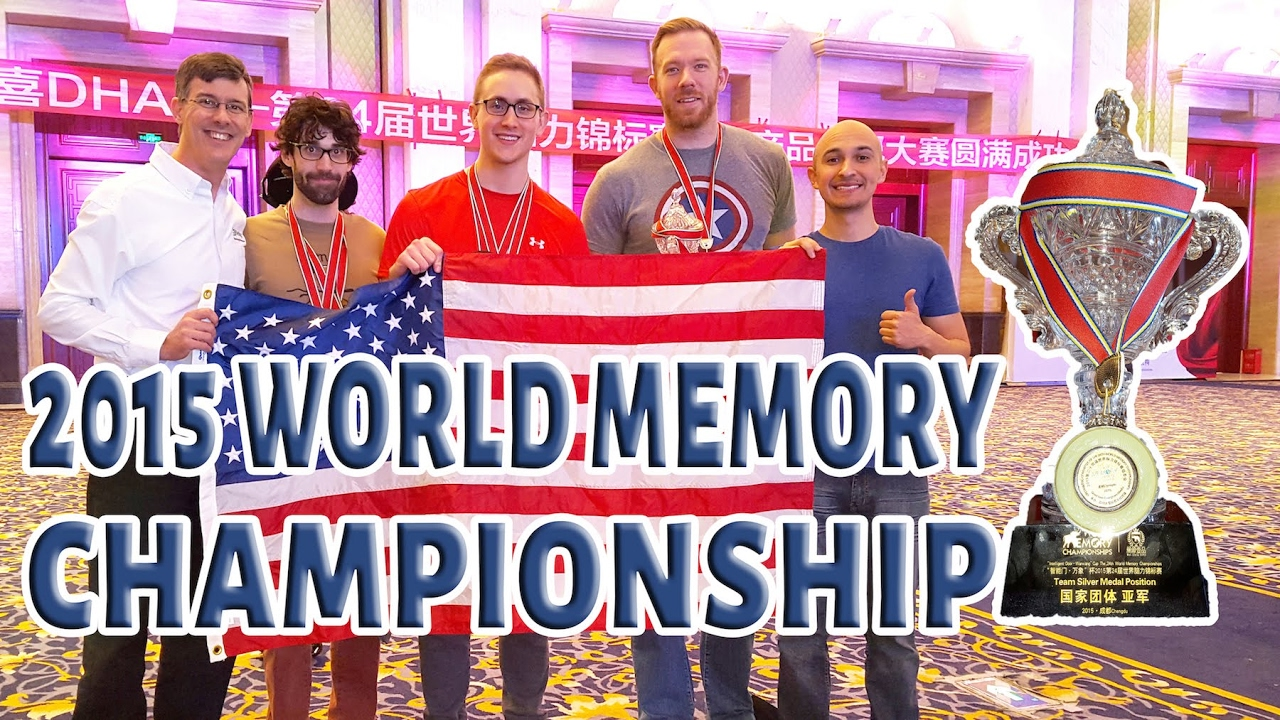 World Memory Championship and Superhuman Memory Master Champion – Luis Angel