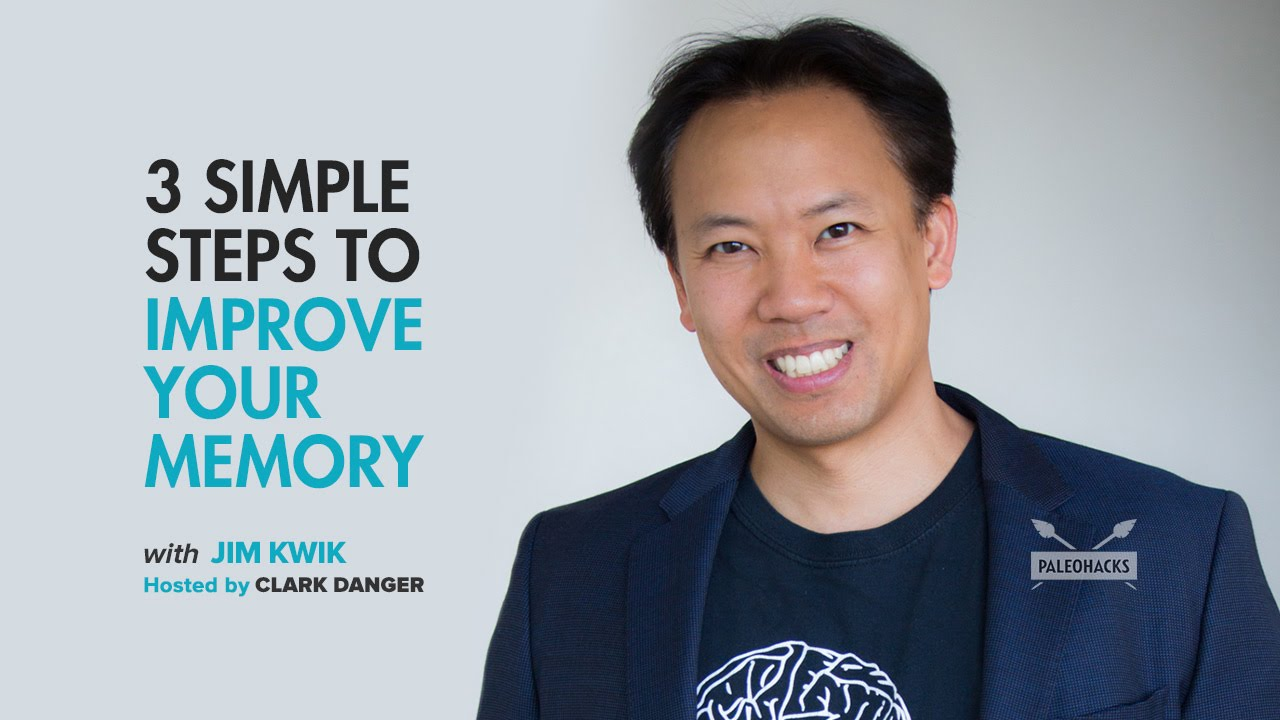 Jim Kwik | 3 Simple Steps To Improve Your Memory