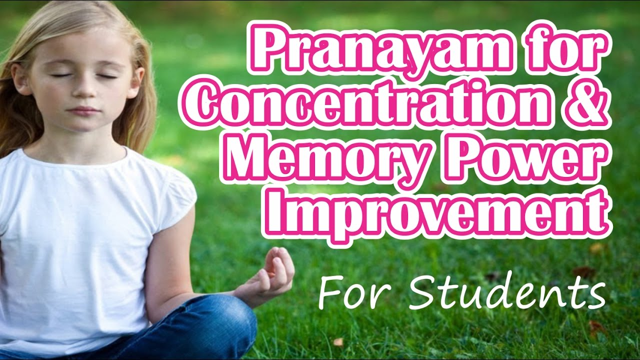 How to improve memory and concentration in children doing yoga | Pranayama Yoga for children