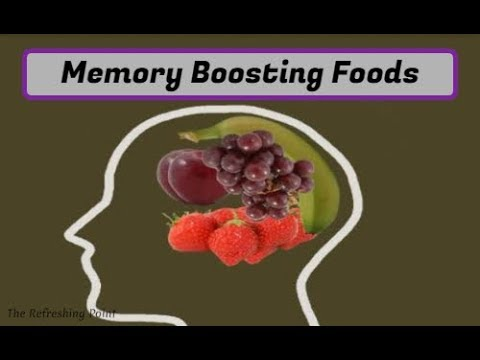 Best Foods to Help Boost Your Memory – Sharper Memory & Better Health with Nutrients for your Brain