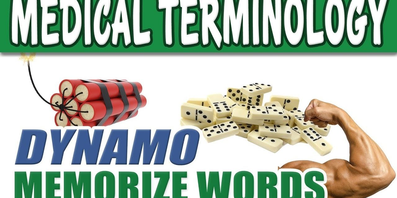Medical Terminology for Beginners – DYNAMO | Memorize Pre Med Terms & Biology Dictionary List Words