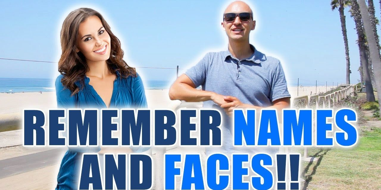 How to Remember Names and Faces at the Beach! | Memory Improvement for People Communication Skills