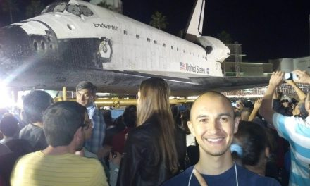 NASA Endeavour Space SHUTTLE Transported to LA HOME (2012)