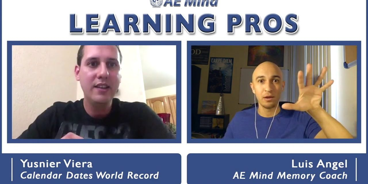 Yusnier on Training for Mental Math Competitions – Learning Pros with Luis Angel