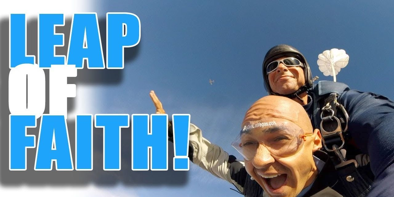 Amazing Skydiving Experience Life Lesson – Trust the Process!   How to Focus and Stay Motivated