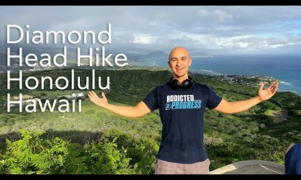 Went on a Quick Hike in Hawaii – Diamond Head Mountain | Waikiki Beach Honolulu Fitness Workout