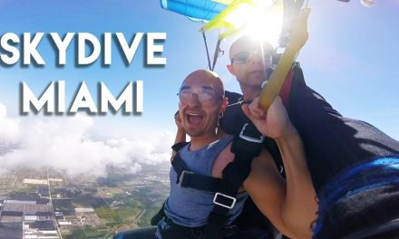 Surprise Skydiving in Miami – JUST DO IT! | Motivation to Conquer Fear Jumping out of Plane