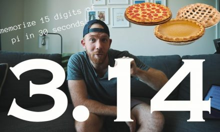 MEMORIZE 15 DIGITS OF PI IN 30 SECONDS!! // RANDOM MEMORY TIPS 18.4