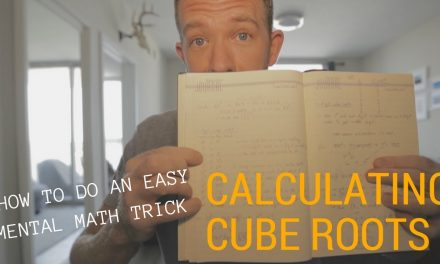 CALCULATING CUBE ROOTS // RANDOM MEMORY TIPS 18.6