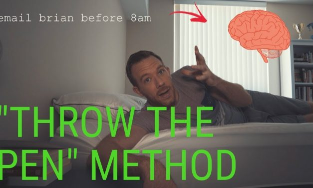 THROW THE PEN METHOD!! // RANDOM MEMORY TIPS 18.15