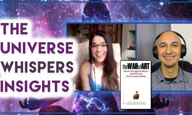 Universe Spiritual Messages Manifest Creative Insight | War of Art Book – Bianca Scalise, Luis Angel