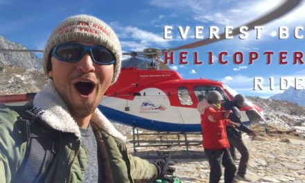 Everest Base Camp Helicopter Adventure Tour Ride & Flight Back to Lukla, Nepal | EBC Trek Himalayas
