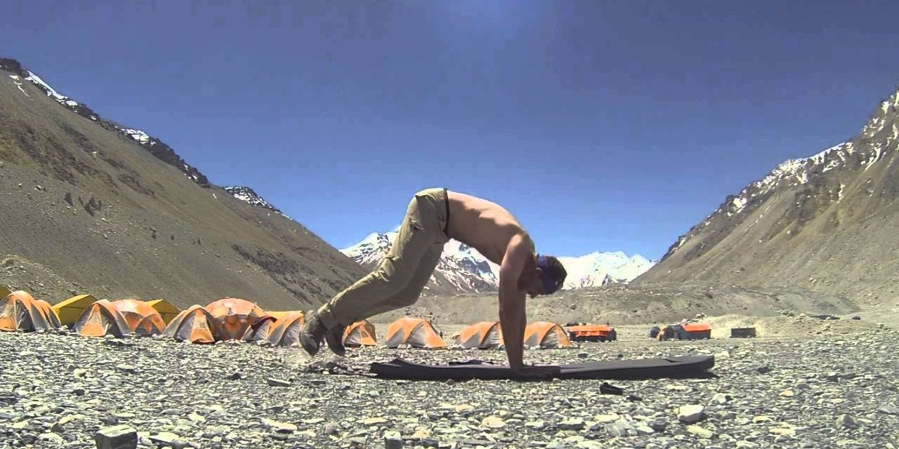 30 Burpees For Time on Mt. Everest