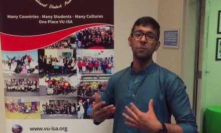 Islamic Society of Victoria University Testimonial 2 – Tansel Ali Presentation