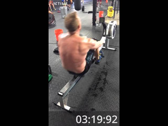 Crush Games 2016 Prelims – #1 – 2000m Row