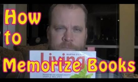 How to Memorize Books | Memory Training How I memorized Martha Stewart's Magazine