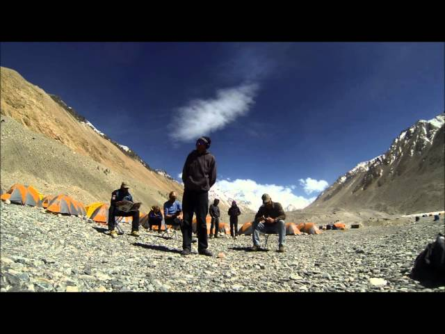 Everest Base Camp North Side Harlem Shake