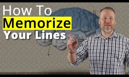 How To Memorize Lines – Best Memorization Techniques