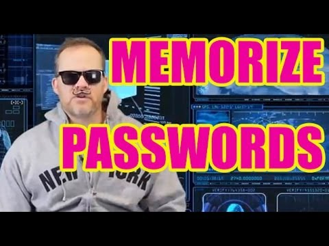 How to Memorize Password | Edward Snowden, CIA, NSA password memory