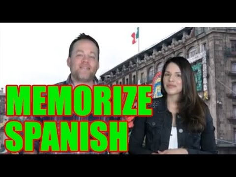 How to Memorize Spanish | How to Learn Spanish