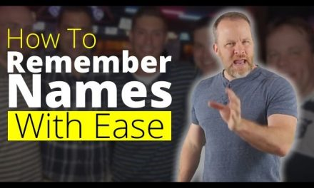 How To Remember Names – Memorize Names and Faces With Ease!