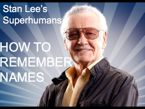 How to Remember Names | Stan Lee's Superhumans Super Memory