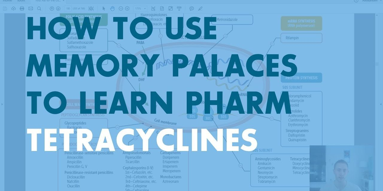 How to Use Memory Palaces in Medical School | Pharmacology: Tetracyclines
