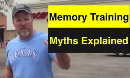 Is Memory Training Too Much Work | How to Memorize