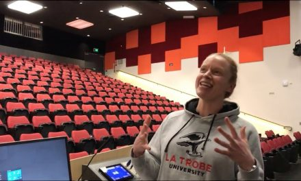 La Trobe University – Tansel Ali Presentation Review