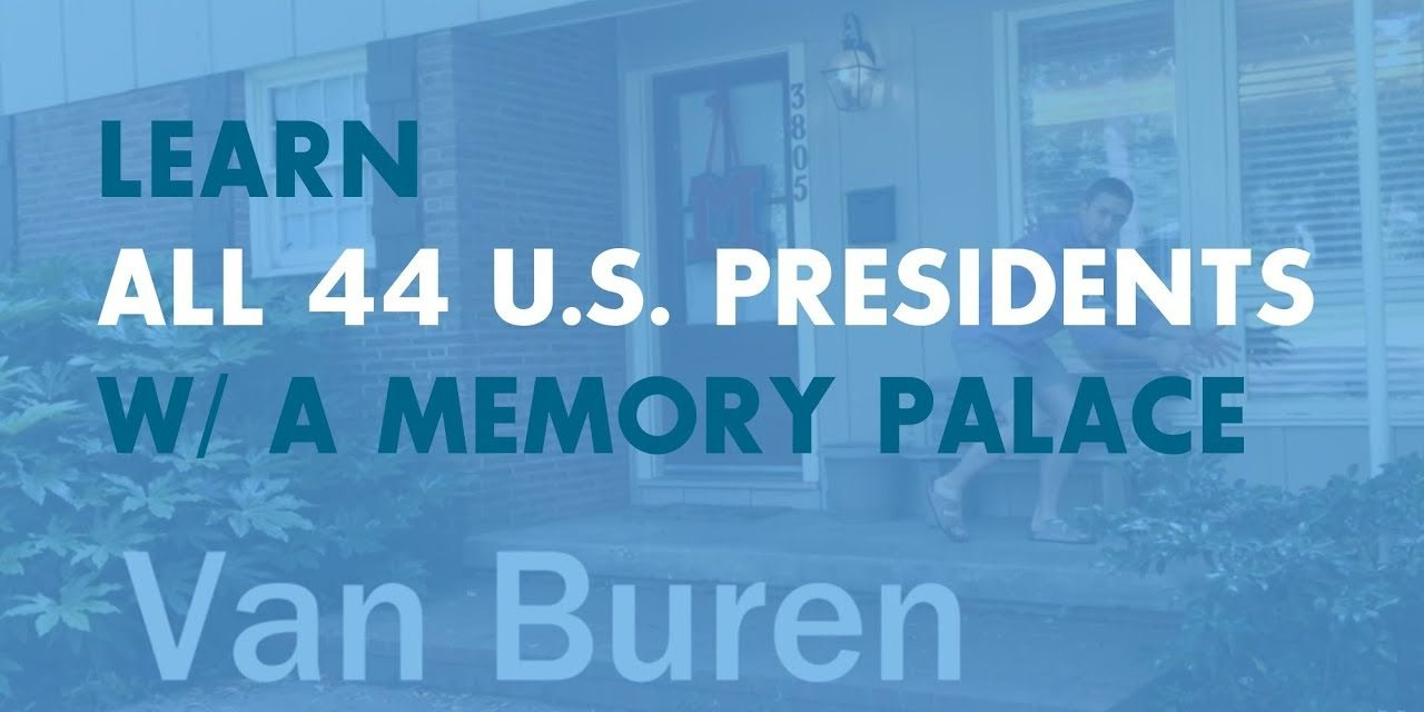 Learn All 44 U.S. Presidents with the World Memory Champion