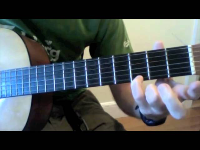 "Learn to play ""Hallelujah, I Love Her So"" by Jerry Reed (Part 1) REDO"