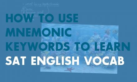 Learning Vocabulary with Mnemonic Keywords