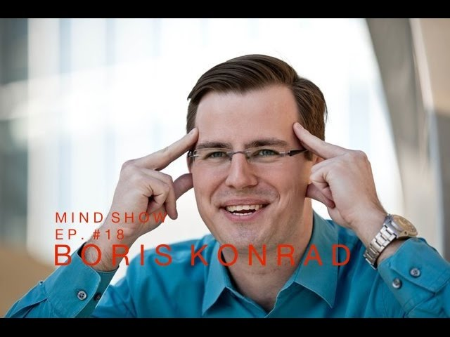 Nelson Dellis' MIND SHOW – Boris Konrad // Neuroscientist, Mental Athlete, Speed Stacker