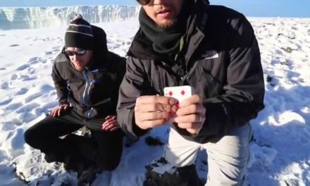 Memorizing A Deck Of Cards On The Summit Of Kilimanjaro