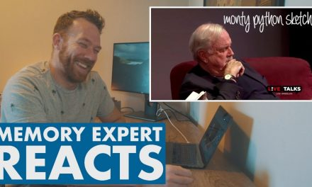 MEMORY EXPERT reacts to MONTY PYTHON MEMORY SKETCH