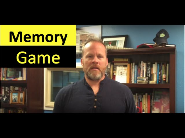 Memory Game | Memory Exercise