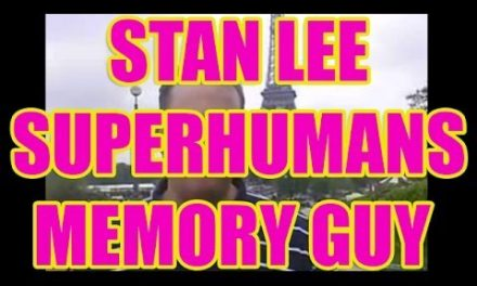 Memory Guy From Stan Lee's Superhumans