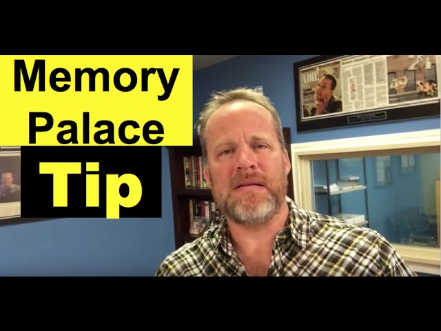 Memory Palace tip | Memory training technique