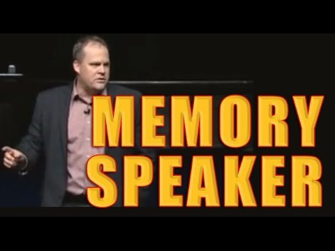 Memory Speaker, Ron White Memorizing 80 names!!