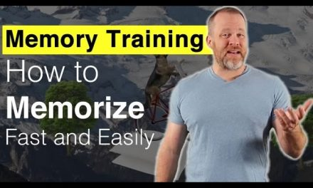 Memory Training – How to Memorize Fast and Easily
