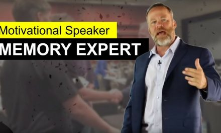 Motivational Speaker and Memory Expert Keynote