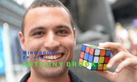 Nelson Dellis' MIND SHOW – Anthony Brooks // Speed Cubing Champ