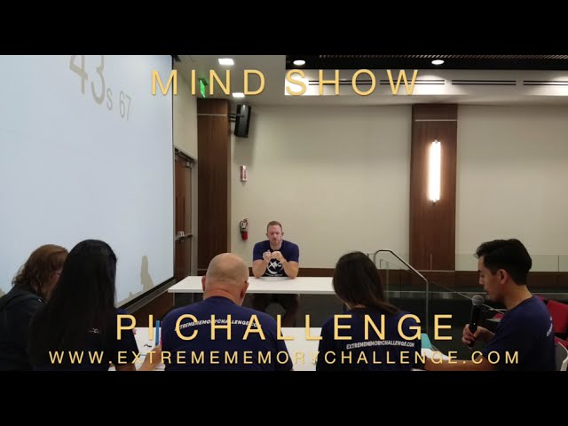 Nelson Dellis' MIND SHOW – How I Memorized 10,000 Digits Of Pi