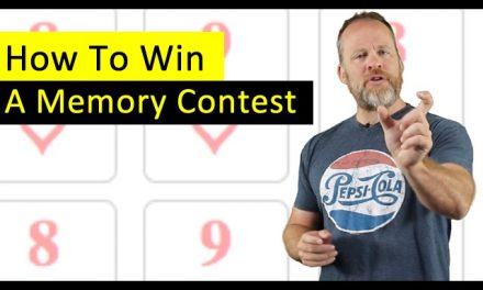 How To Win a Memory Tournament (Like The USA Championships and World Memory Championship)