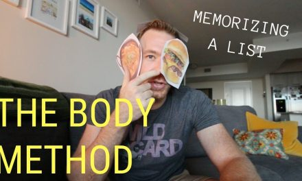THE BODY METHOD // RANDOM MEMORY TIPS #001