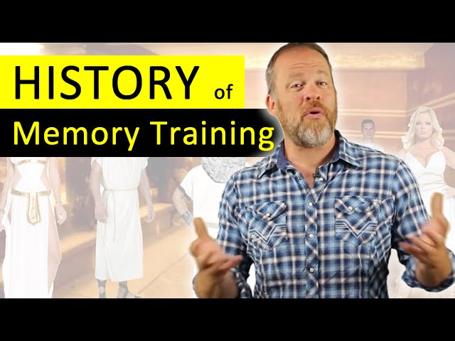 The History of Memory Training and The Memory Palace