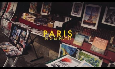 TRAVEL // PARIS IN 2 MINUTES