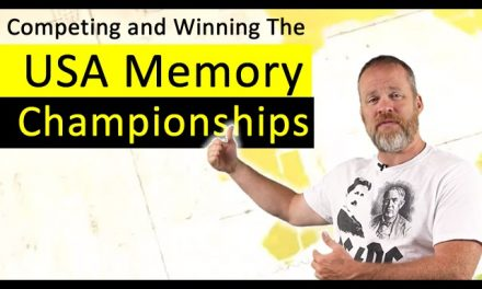 What Is It Like To Compete and Win a USA Memory Championship?
