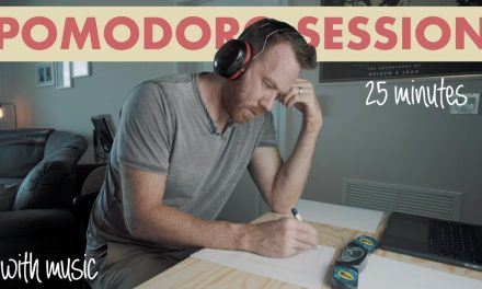 STUDY WITH ME a MEMORY CHAMPION (with music) REAL TIME – (25 min POMODORO SESSION)